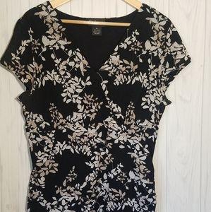 Style & Co Asymmetrical Blouse